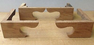Oak Bracket Feet for Antique Longcase Clock, fantastic quality using period Oak!