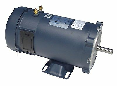 1hp 1800RPM 56C Frame 24 volts DC TEFC Leeson Electric Motor # 108053