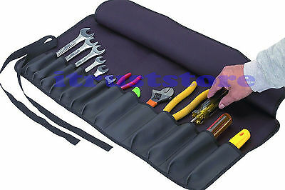 Roll Up Tool Holder Holding Pouch For Hand Tools Chisels Wrenches Organizer Wrap