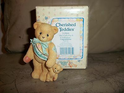 Cherished Teddies This calls for a Celebration #215910  MIB