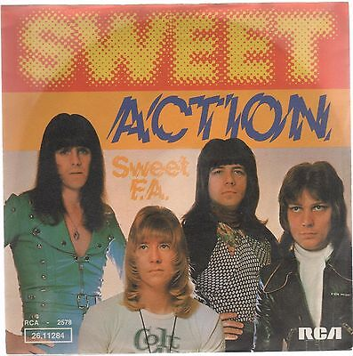 "Sweet Action / Sweet F.a 7"" 45 Giri"