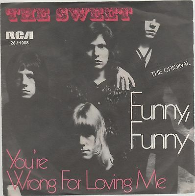 "Sweet Funny, Funn/you're Wrong For Loving Me 7"" 45 Giri"