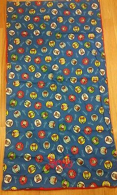 """Thomas Train Nap Mat Cover 24""""X48"""" & 1"""" or 2"""" Inch Thick Kindermat Embroidered"""