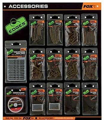 Fox NEW Edges Terminal Tackle & Accessories Range - Board 1