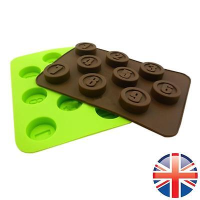 *UK Seller* Silicone Chocolate Mould Numbers Candy Bakeware 1 - 9