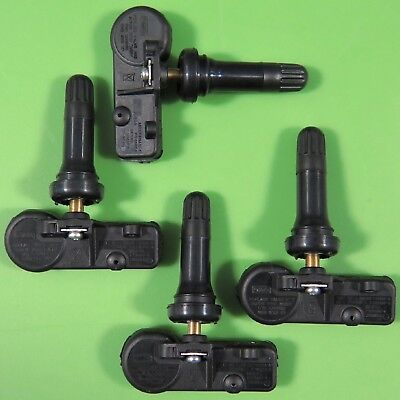 Set of 4 Ford Lincoln Merc TIRE PRESSURE SENSOR TPMS OEM 9L3T-1A180-AF SET-TS15