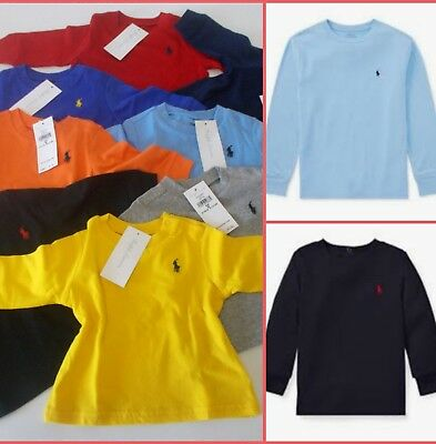 Polo RALPH LAUREN Boys Long Sleeve T Shirt Polo shirt