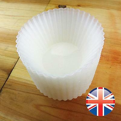 *UK Seller* 12 X Silicone Cupcake Muffin Cases Chocolate Baking Cup