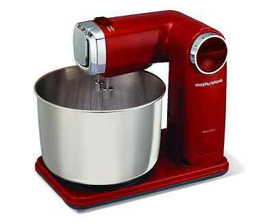 Morphy Richards 400404 Accents Stand Mixer – Red -300W 6 Speeds 2 year Guarantee