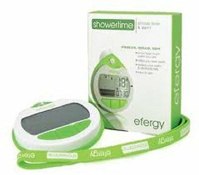 Efergy Shower Timer & Monitor - Save H2O & Energy - Gorilla Free P&P Worldwide!