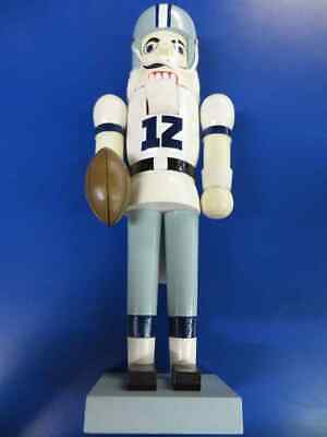dallas cowboys nfl pro football gift rare christmas collectible 14 nutcracker