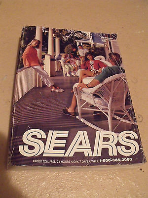 Sears Roebuck Vintage Spring and Summer 1991 Catalog Department Store