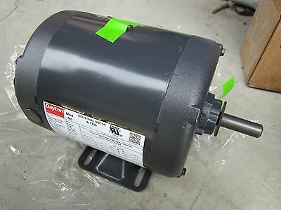 NEW J.L Wingert Dayton 6JHX2 230v Motor 81834 71639665 1//20HP Continuous Duty