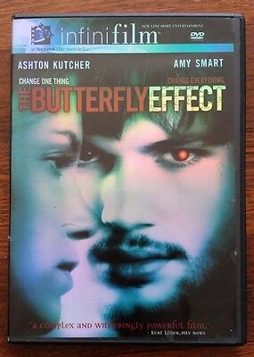 The Butterfly Effect (DVD, 2004, Infinifilm) Pre-Owned