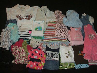 Baby Girl 6-9- & 6-12m Fall-Winter Outfit Clothes Lot