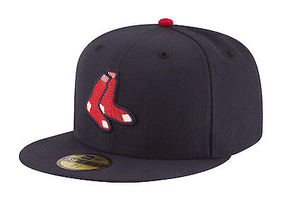 "New Era 59Fifty MLB Cap Boston Red Sox Alt On Field Fitted Hat - ""Socks"""
