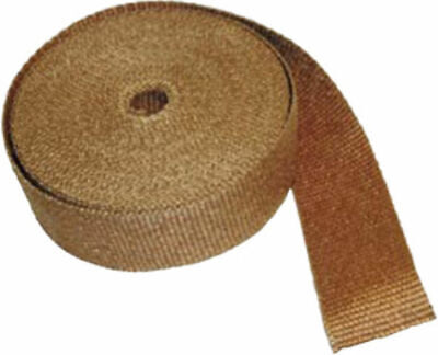 """Thermotec Copper Insulating Exhaust Wrap 15 Metres/50 Feet x 1"""" Wide"""