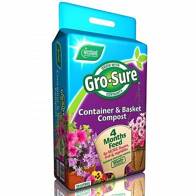 Westland Gro Sure Container and Basket Compost 10lt
