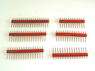 "0.156/"" PCB SIL Pin Header Vertical or R//A with base and lock guide 10pieces EB20"