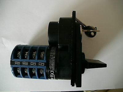 Kraus and Naimer C26 SWITCH WITH KEY LOCK D8450 2