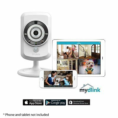 D-Link DCS-942LEnhanced Wireless N Day/Night Home Network Camera with mydlink UK