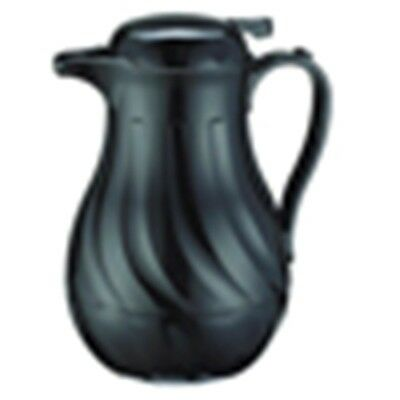 Coffee Carafe Black Swirl/commercial 42 Oz. Insulated (For Hot Or Cold) #fb3022/