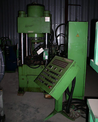 200 Ton Dongsung Hydraulic Shell Press; 4-Post