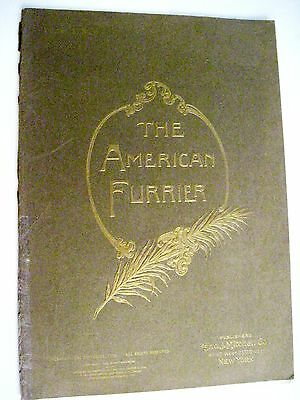 """July 1931 """"The American Furrier"""" w/ Stunning Colored Plates of Furs And Hats *"""