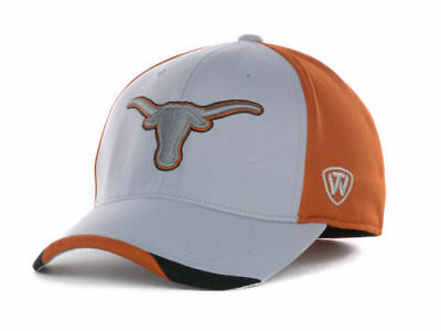 the best attitude 471e1 c4b97 TEXAS LONGHORNS - Top Of The World Ncaa Grizzly Stretch Fit Cap hat - Osfm  -  19.99   PicClick