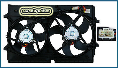 Holden Commodore VZ V6 New Radiator Thermo Dual Fan Assembly 2004-2006