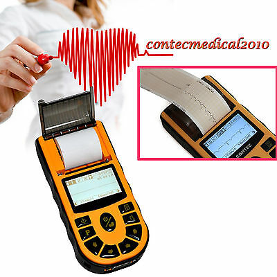 NEW CONTEC 1-Channel 12-leads ECG EKG MACHINE électrocardiographe Logiciel PC
