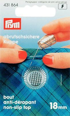 Prym Fingerhut 18 mm silberfarbig Anti - Rutsch 431864