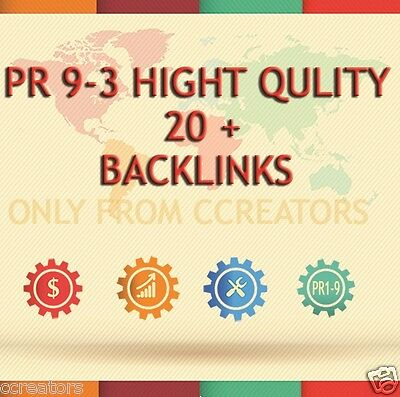 we ll add your site 20+ PR 9-3 High Quality Backlinks