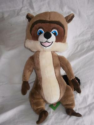 Dreamworks Over the Hedge Hammy Squirrel Soft Toy 35cm Talks g10
