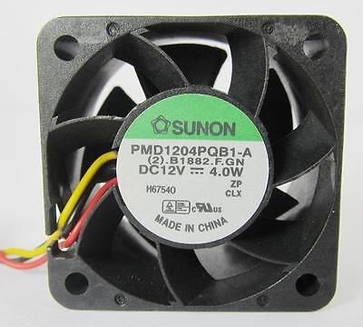 SUNON DC BRUSHLESS Fan 40mx40mmx28mm 4028 12V 4.0W 3pin Connectors PMD1204PQB1-A