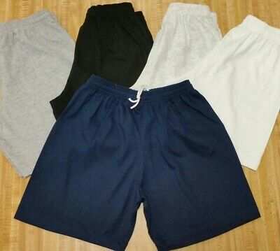 100% Cotton Shorts No Pockets w/ Drawstring