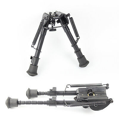 Universal Adjustable Harris Style Tactical Rifle Bipod Spring Loaded Foldable