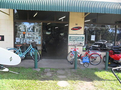 Business - BICYCLE AND LAWNMOWER PLUS SURFBOARD SHOP FOR SALE