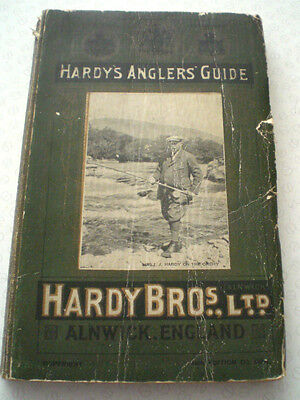 A Good Rare Vintage Hardy Advertising Fishing Catalogue Anglers Guide For 1924