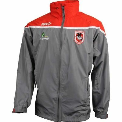 St George Dragons NRL Wet Weather Jacket 'Select Size' S-5XL BNWT5