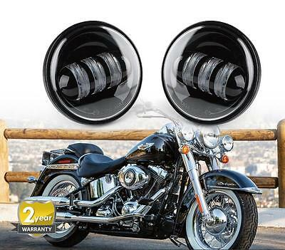 """4-1/2"""" 4.5inch LED Passing Light for Harley Davidson Fog Lamps Auxiliary Light"""