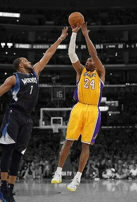 KOBE BRYANT Photo Quality Poster LAKERS - Choose a Size!  #07
