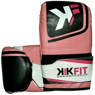 Rex Leather Boxing MMA Gloves Punch Bag Training Mitts Sparring Muay Pad Glove