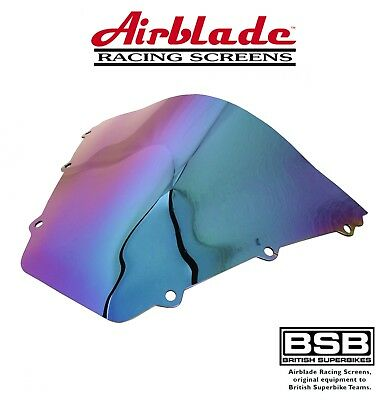 New Triumph T955Fi Daytona 2002 Iridium Double Bubble Airblade Screen