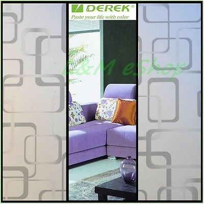 High Quality Decorative Design Frosted Window Film Privacy Sticker #65