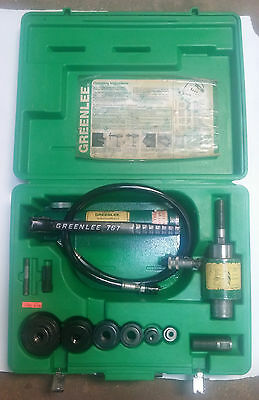 USED- GREENLEE Hand Pump Hydralic Driver # 7646 USA MADE