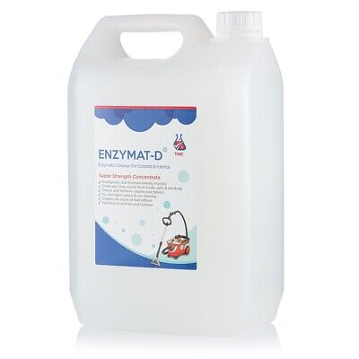 Concentrated Enzyme Carpet Cleaner & Odour Remover 5Ltr