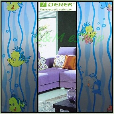 High Quality Privacy Decorative Design Sticker Frosted Glass Window Film #28