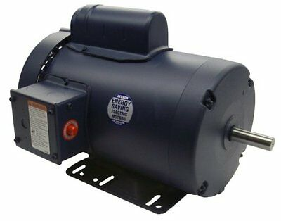 3 hp 3450 RPM 145T Frame TEFC 230 Volts Leeson Electric Motor # 120341