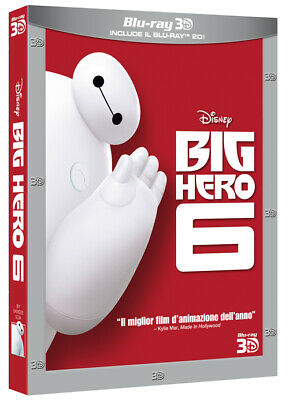 Big Hero 6 (3D) (Blu-Ray + Blu-Ray 3D) WALT DISNEY